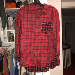 Red Cross flannel shirt